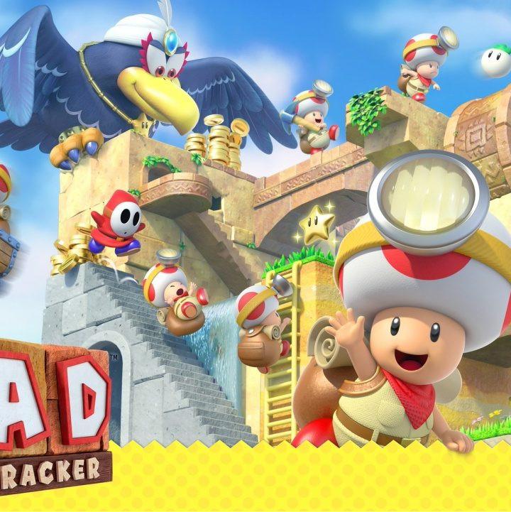 Schatzsucher aufgepasst - Captain Toad: Treasure Tracker Switch