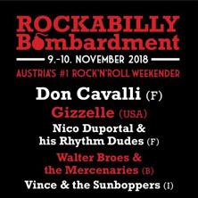 Rockabilly Bombardment 2018 - SAMSTAG am 10. November 2018 @ Etap Event Center.