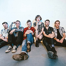 Skinny Lister am 20. March 2019 @ Arena Wien.