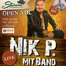 Steirern Sommer Open Air 2020 mit Nik P. mit Band am 6. June 2020 @ Inseltown.