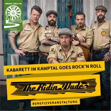 The Ridin' Dudes am 18. April 2020 @ Haus der Musik.