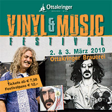 Vinyl & Music Festival 2019 am 2. March 2019 @ Ottakringer Brauerei.